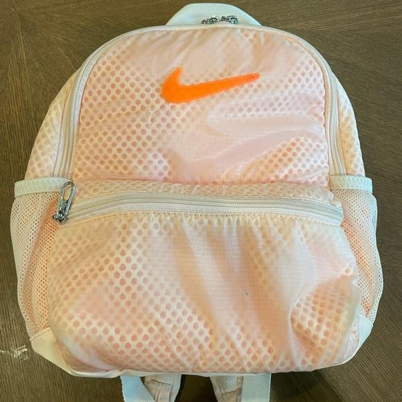 Bright Orange Nike Bag
